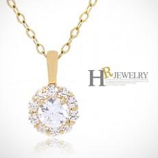 (4월탄생석)14K 다이아몬드 목걸이